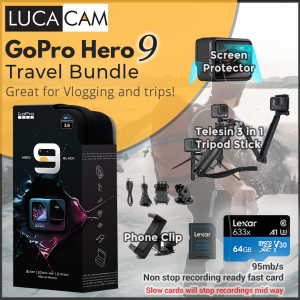 Gopro Hero 9 Travel Bundle
