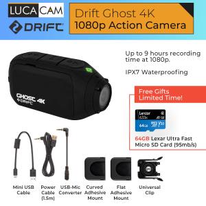 Drift 4K+ Camera 4K Resolution